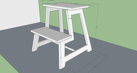 Stepstool sketchup